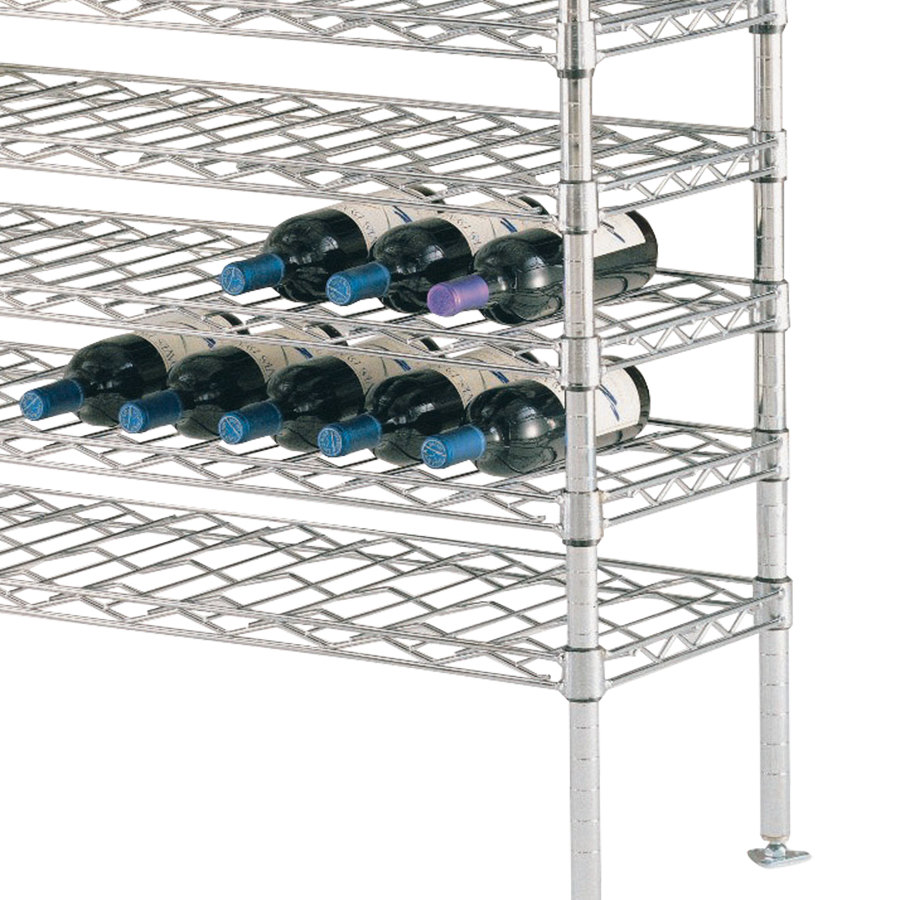 "Metro W1448NC Wine Cradle Shelf - 14"" x 48"""