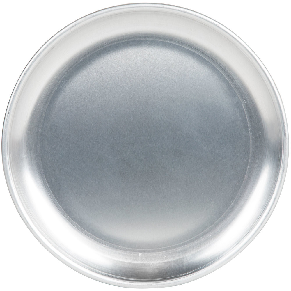 "American Metalcraft HACTP6 6"" Heavy Weight Aluminum Coupe Pizza Pan"