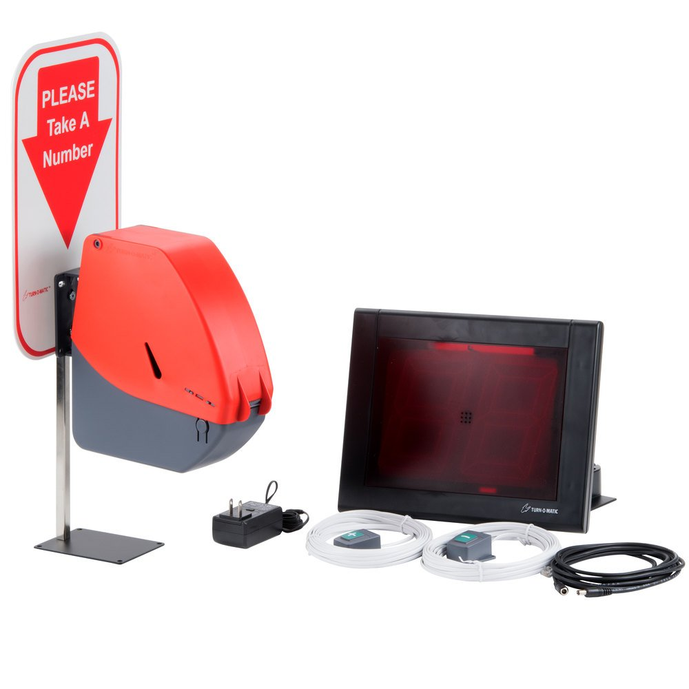 Automatic Ticket Dispenser ~ Take a number dispenser gift automatic soap