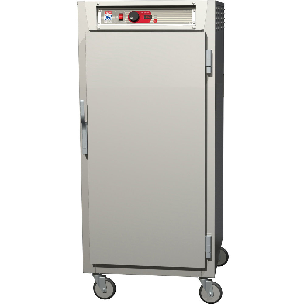 Metro C587-SFS-U C5 8 Series Reach-In Heated Holding Cabinet - Solid Door
