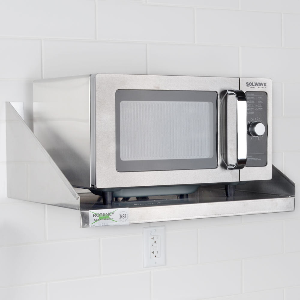 ... Stainless Steel Commercial Microwave with Dial Control - 120V, 1000W