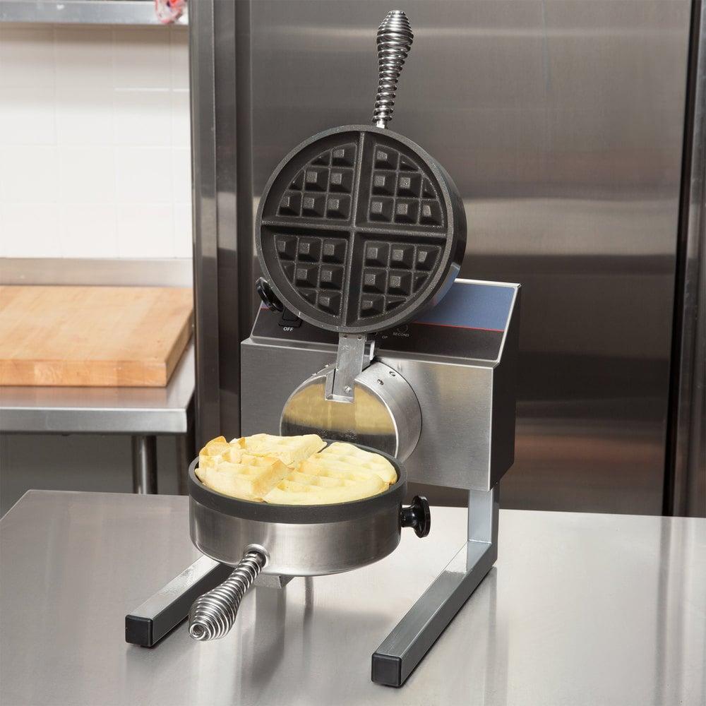 Stick On A Waffle Iron ~ Nemco a s silverstone non stick belgian waffle