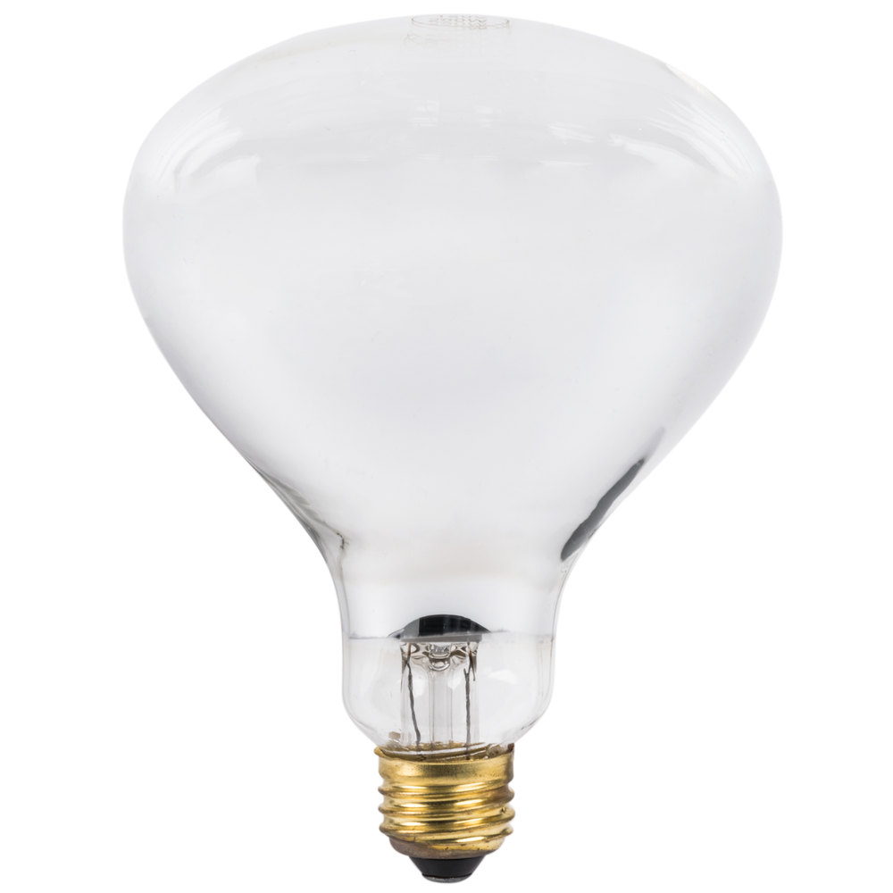 Heating Light Bulb : Lavex janitorial watt infrared heat lamp light bulb