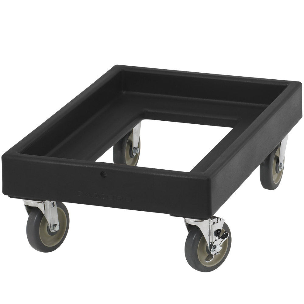 Cambro CD300 Black Camdolly for Cambro Camtainers and Camcarriers