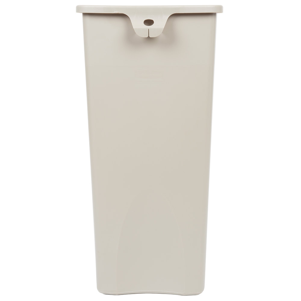 Rubbermaid Fg356988beig Untouchable Beige 23 Gallon Square