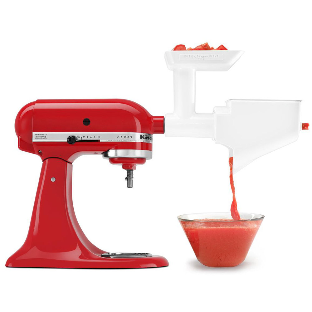 Kitchenaid Fvsfga Fruit Vegetable Strainer Attachment For Stand Mixers