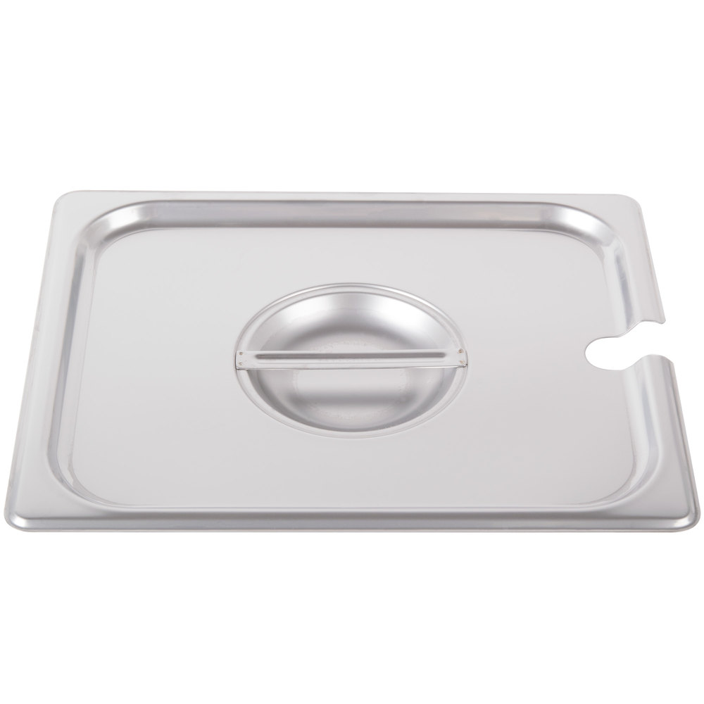 1/2 Size Slotted Steam Table / Hotel Pan Cover