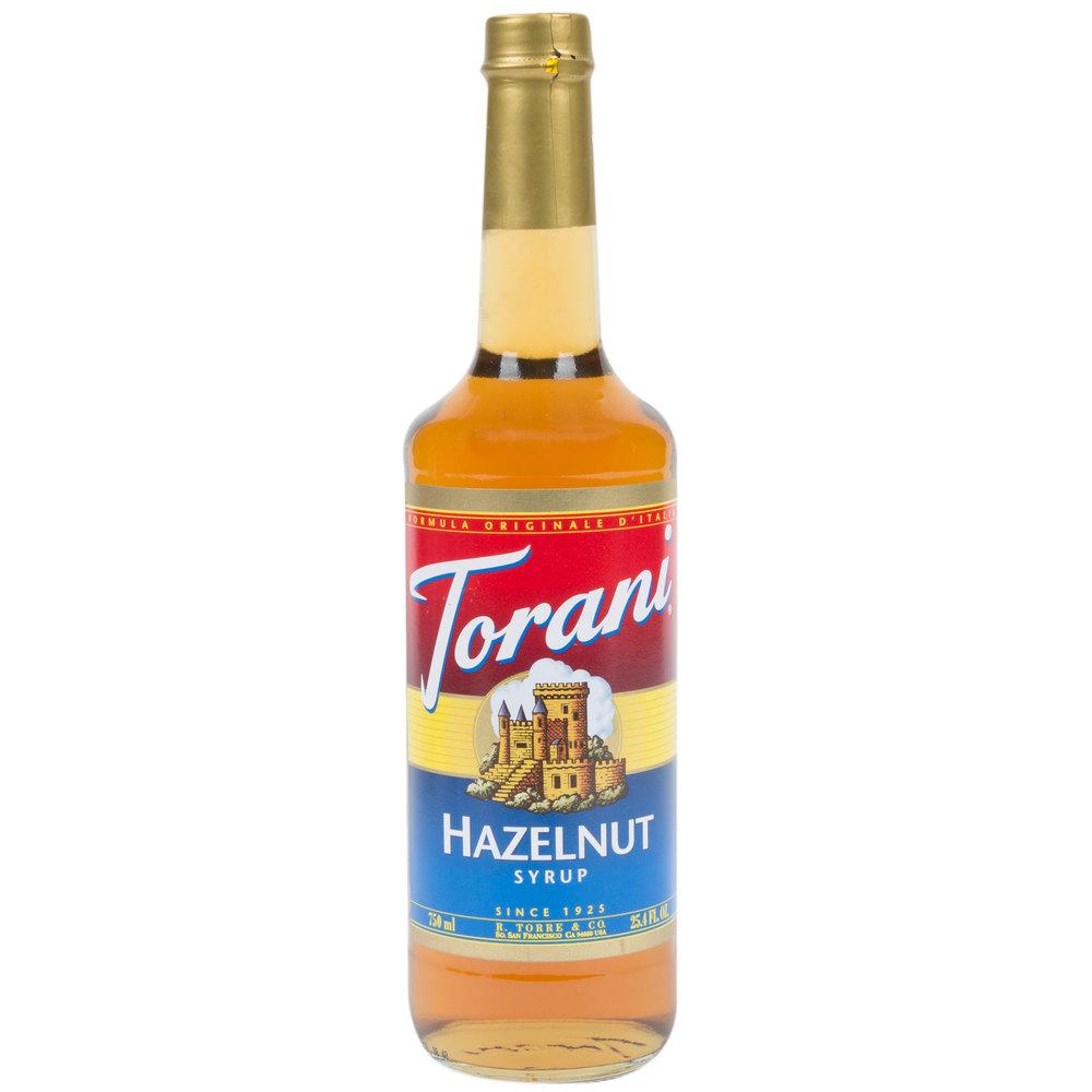 Hazlenut syrup