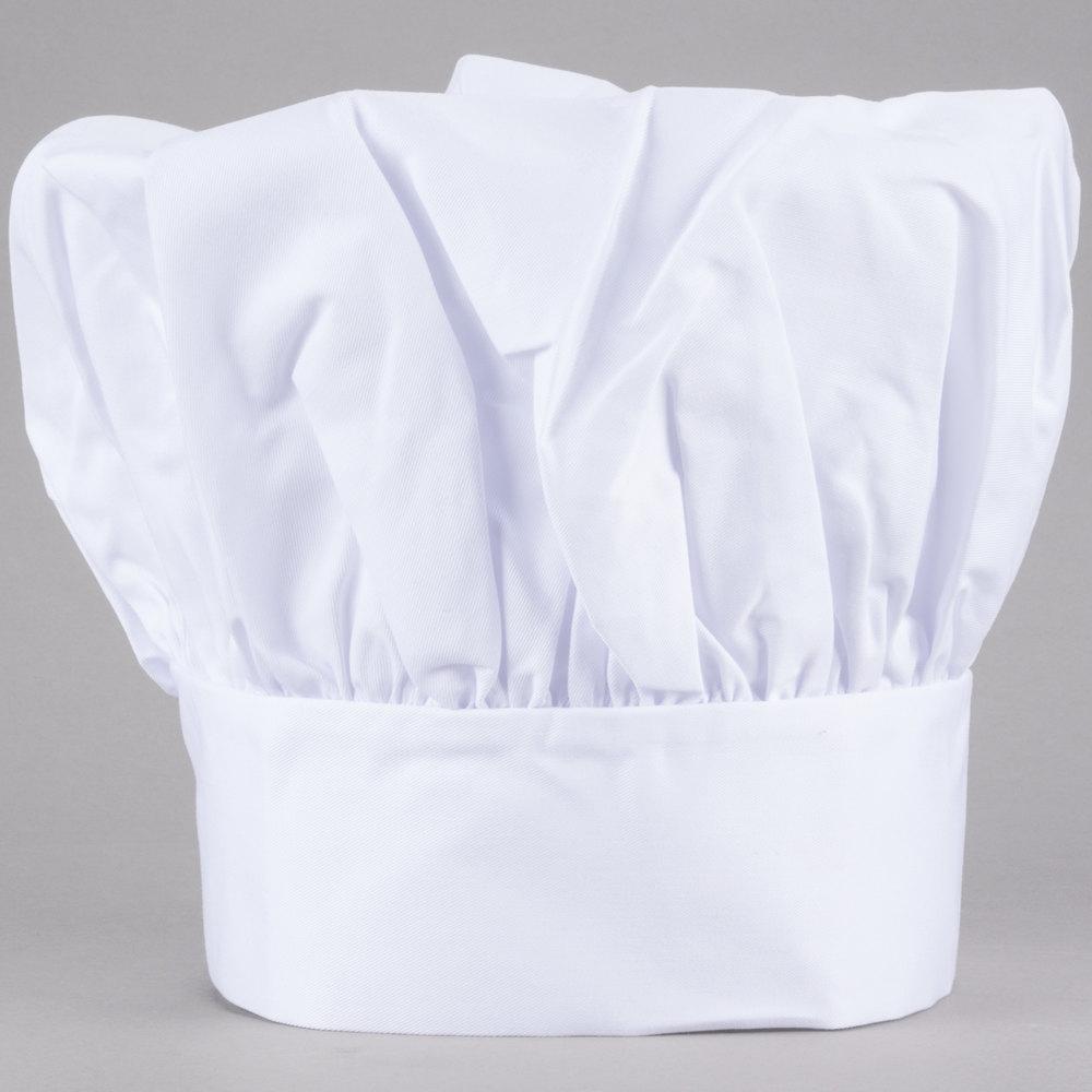 13 white chef hat. Black Bedroom Furniture Sets. Home Design Ideas