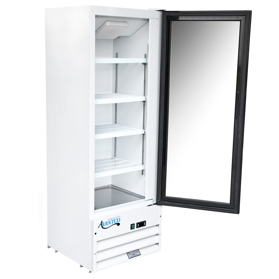 Avantco Gdc10 21 Quot Swing Glass Door White Merchandiser
