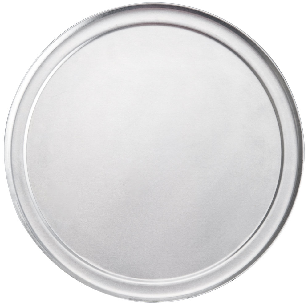 "American Metalcraft TP6 6"" Wide Rim Pizza Pan"