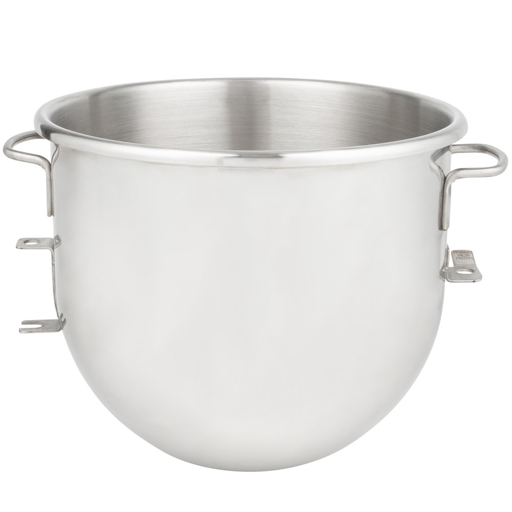 Hobart BOWL-HL20P Legacy 20 Qt. Stainless Steel Mixing Bowl