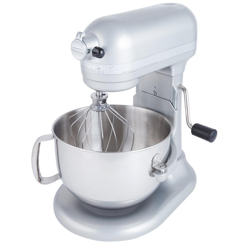 Kitchenaid Kp26m1xnp Nickel Pearl Professional 600 Series