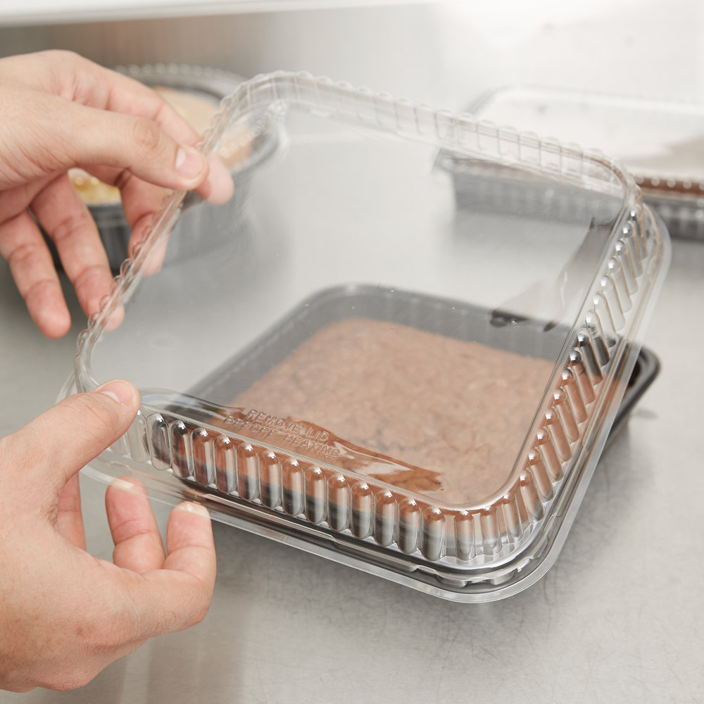 Genpak 95388 Bake N Show Clear Dome Lid For 55388 Dual
