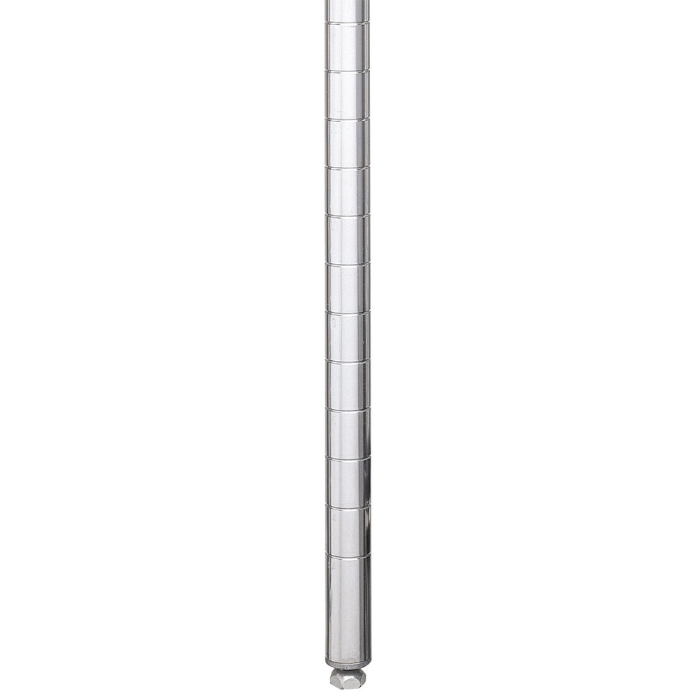 "Metro 86P Stationary Super Erecta SiteSelect 86"" Chrome Post"