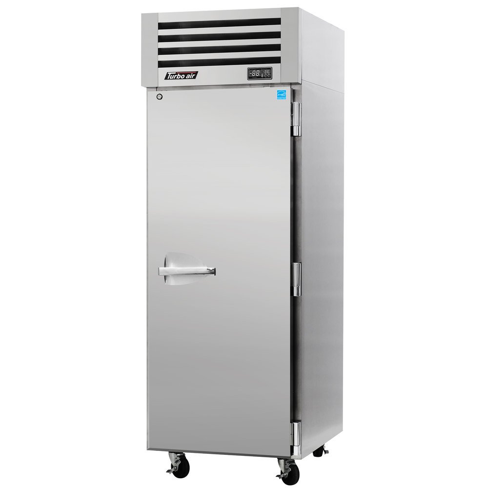 "Turbo Air PRO-26R 29"" Premiere Pro Series One Section Solid Door Reach in Refrigerator - 25 Cu. Ft."