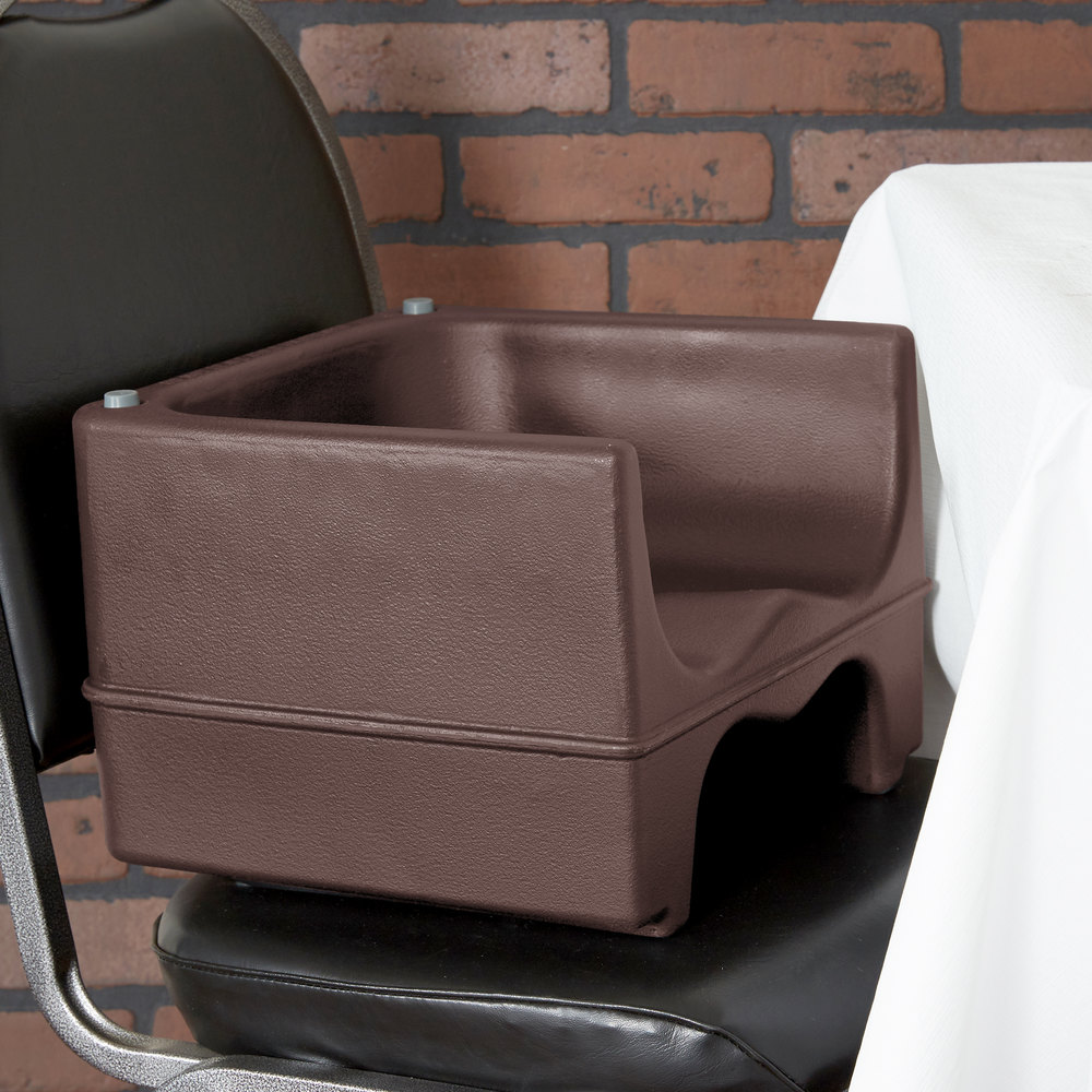 Cambro 200bc131 Dual Seat Booster Chair Brown