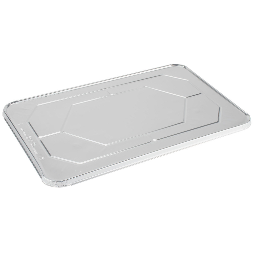 Choice Full Size Foil Steam Table Pan Lid - 50/Case