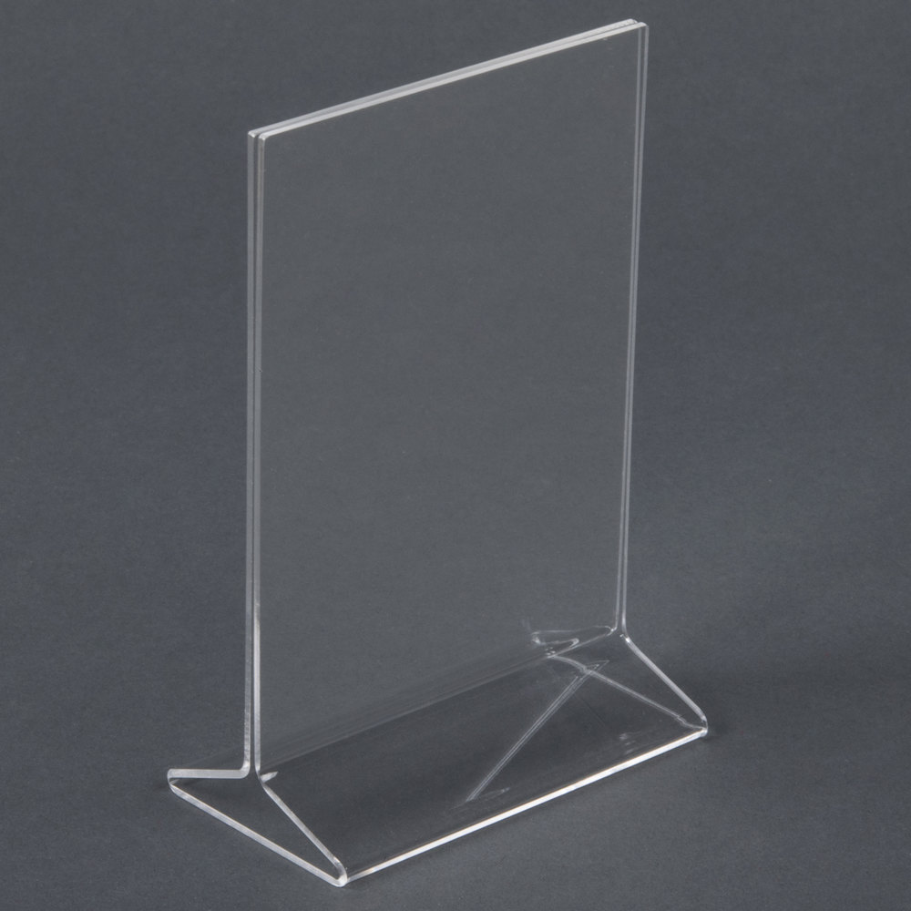 4 Quot X 6 Quot Acrylic Tabletop Displayette