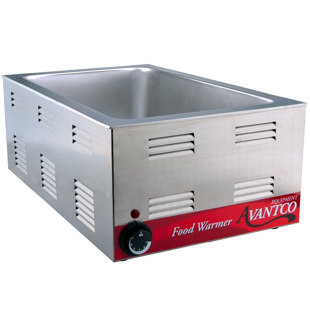Countertop Food Warmers ~ Avantco w quot electric countertop food warmer