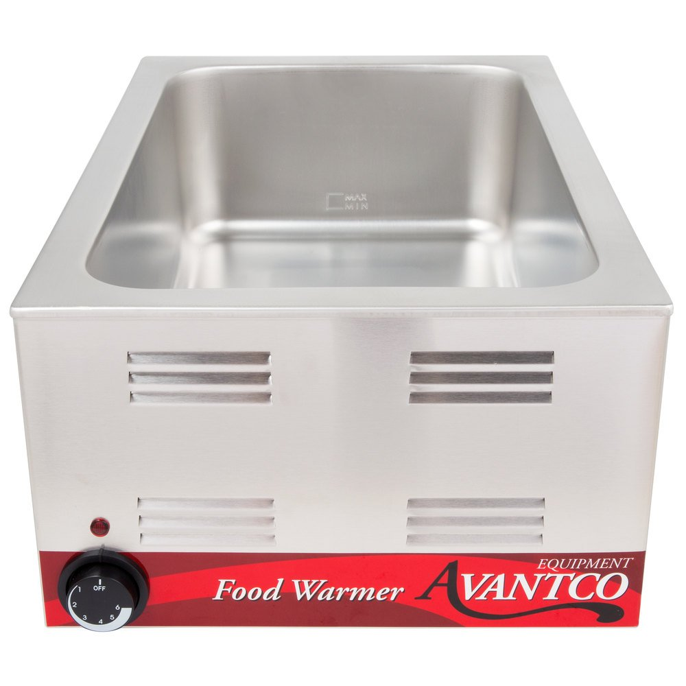 Avantco W50 12 Quot X 20 Quot Full Size Electric Countertop Food