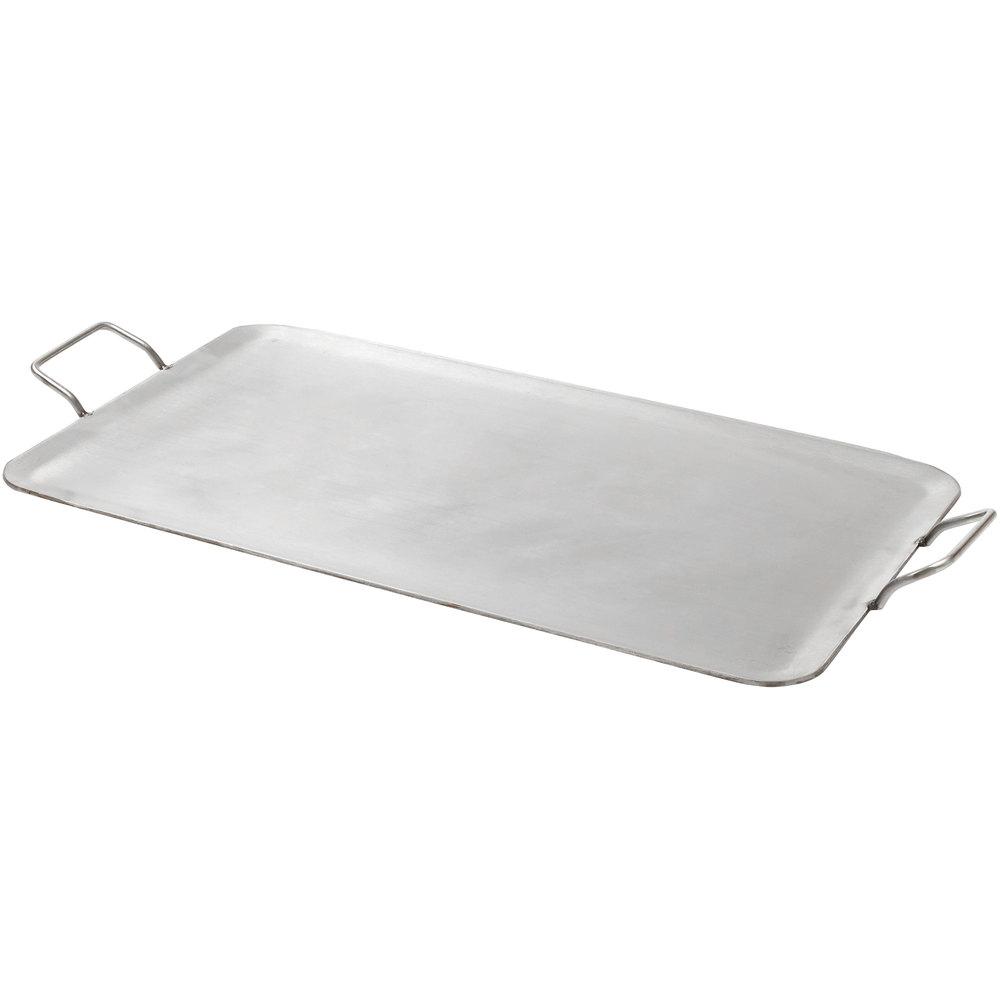 american metalcraft gsss1526 rectangular fullsize stainless steel griddle