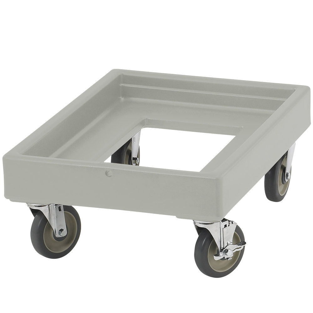Cambro CD100180 Light Gray Camdolly for Cambro Camcarriers and Camtainers