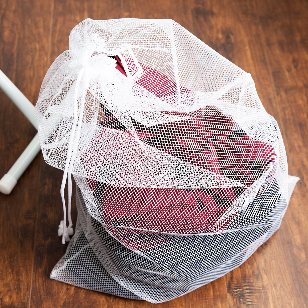25 Quot X 36 Quot Mesh Laundry Bag With Drawstring