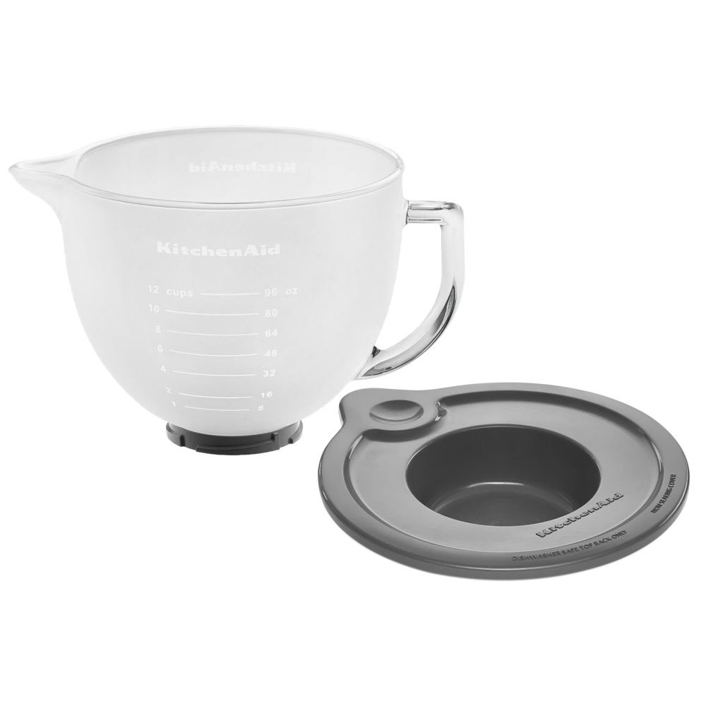 KitchenAid K5GBF Frosted 5 Qt. Mixing Bowl with Handle and Lid for ...