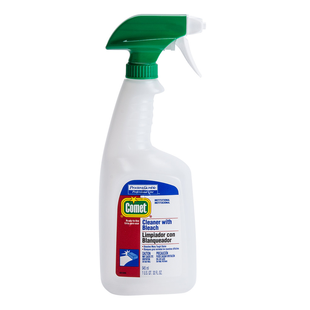 Bottle Of Bleach Procter Gamble 02287 32 Oz Bottle Comet Cleaner With Bleach 8