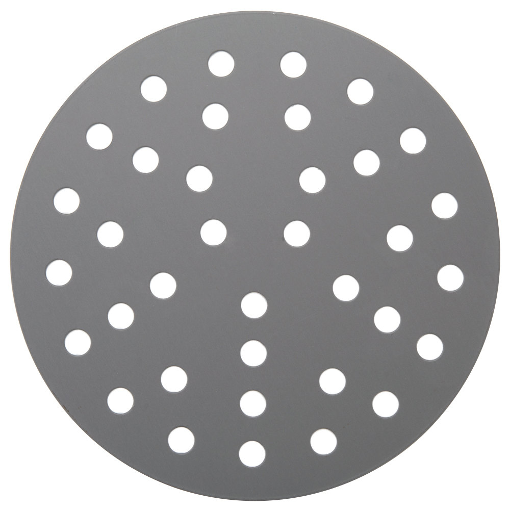 "American Metalcraft 18919PHC 19"" Perforated Pizza Disk - Hard Coat Anodized Aluminum"