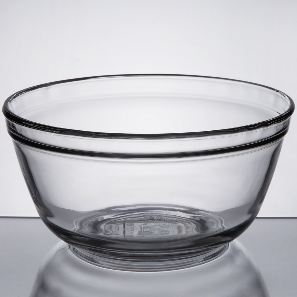Anchor Hocking 81574l11 1 5 Qt Glass Mixing Bowl