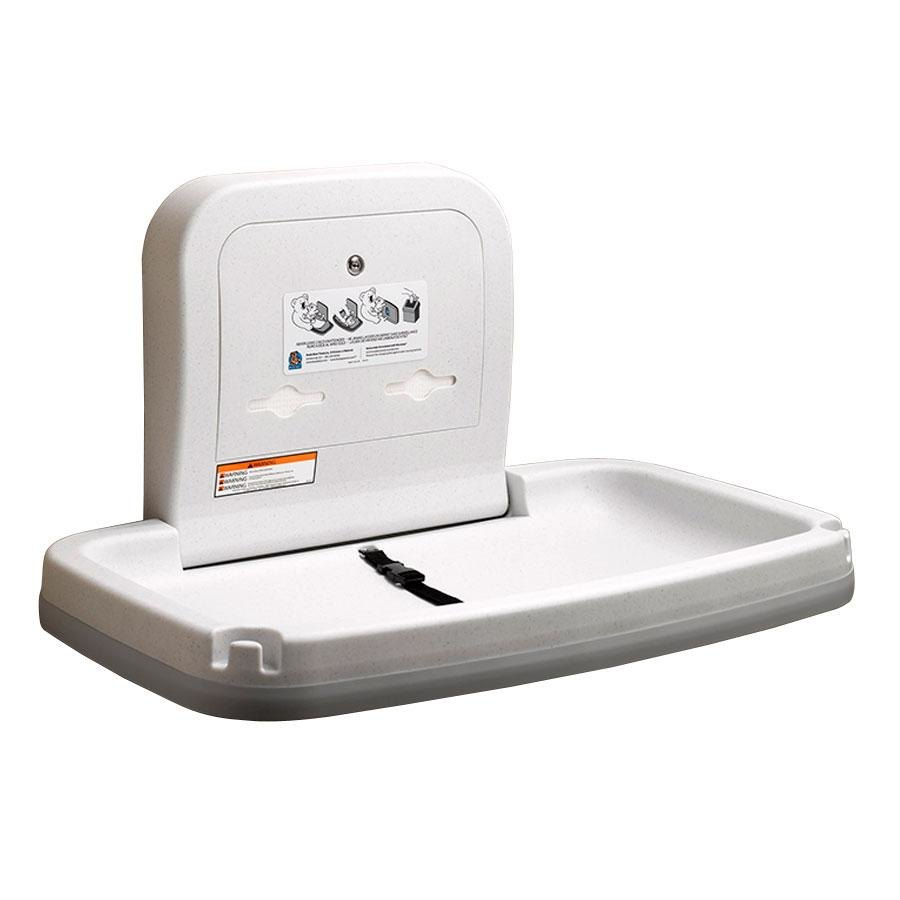Koala Kare Kb200 Ss 05 Ss Horizontal Baby Changing Station