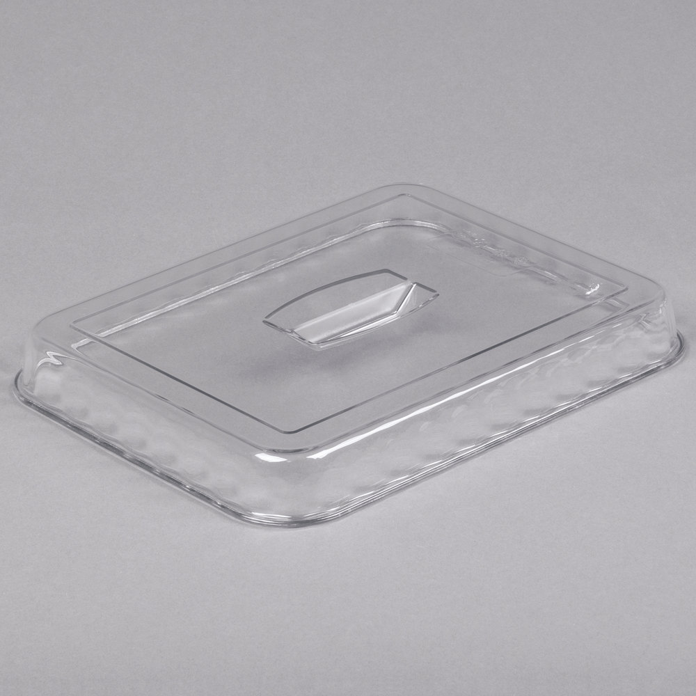 Cambro DCC10135 Clear Deli Crock Lid for 4.9 Qt. Deli Crocks - 6/Case