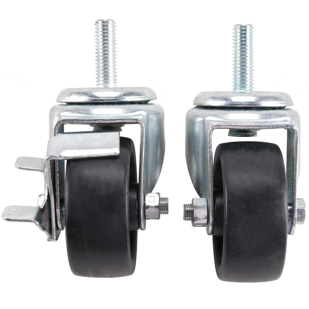 "True 883720 3"" Swivel Stem Casters - 4/Set"