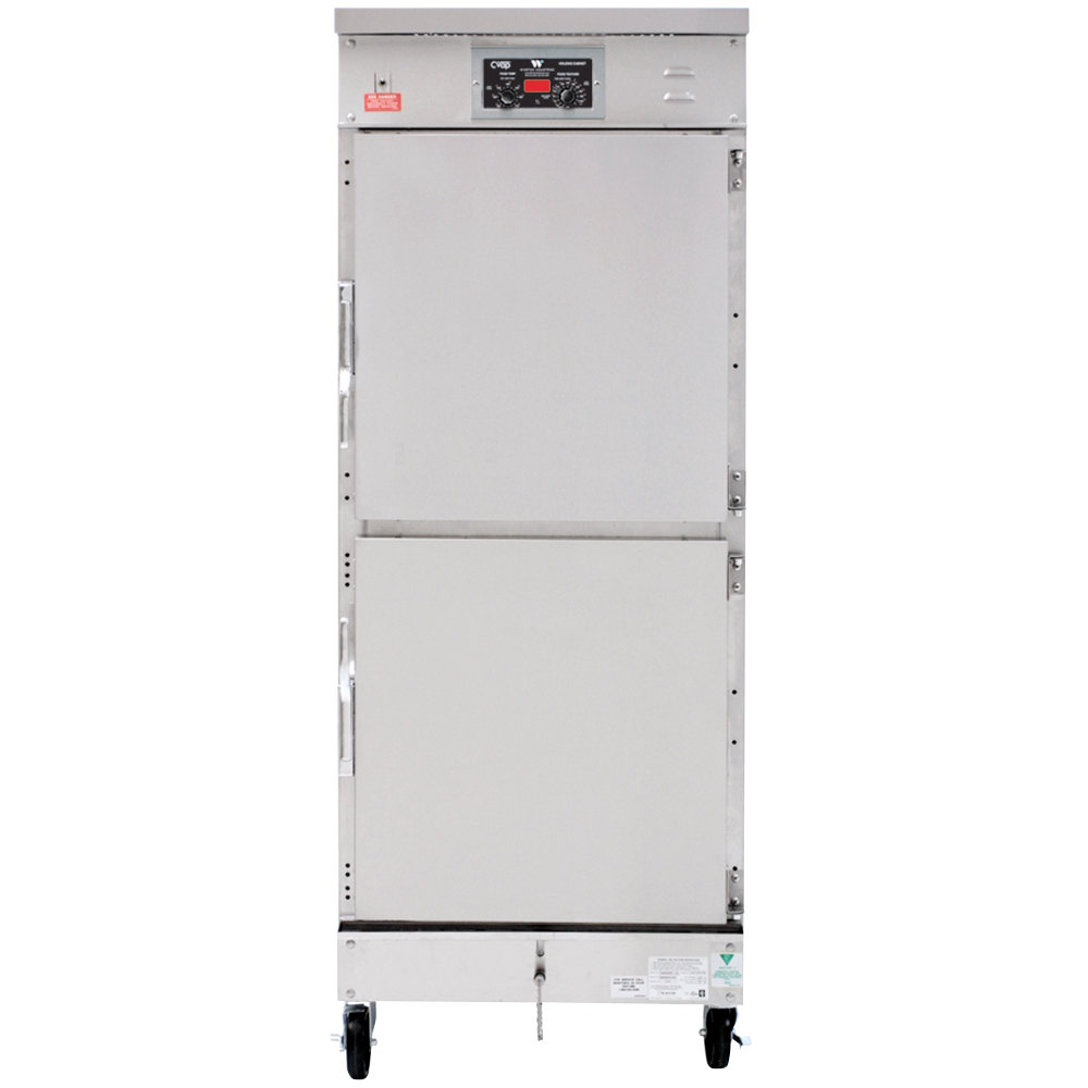 Winston Industries HL4522-AL CVAP Holding / Proofing Cabinet with Fan and Aluminum Exterior - 22 Cu. Ft.