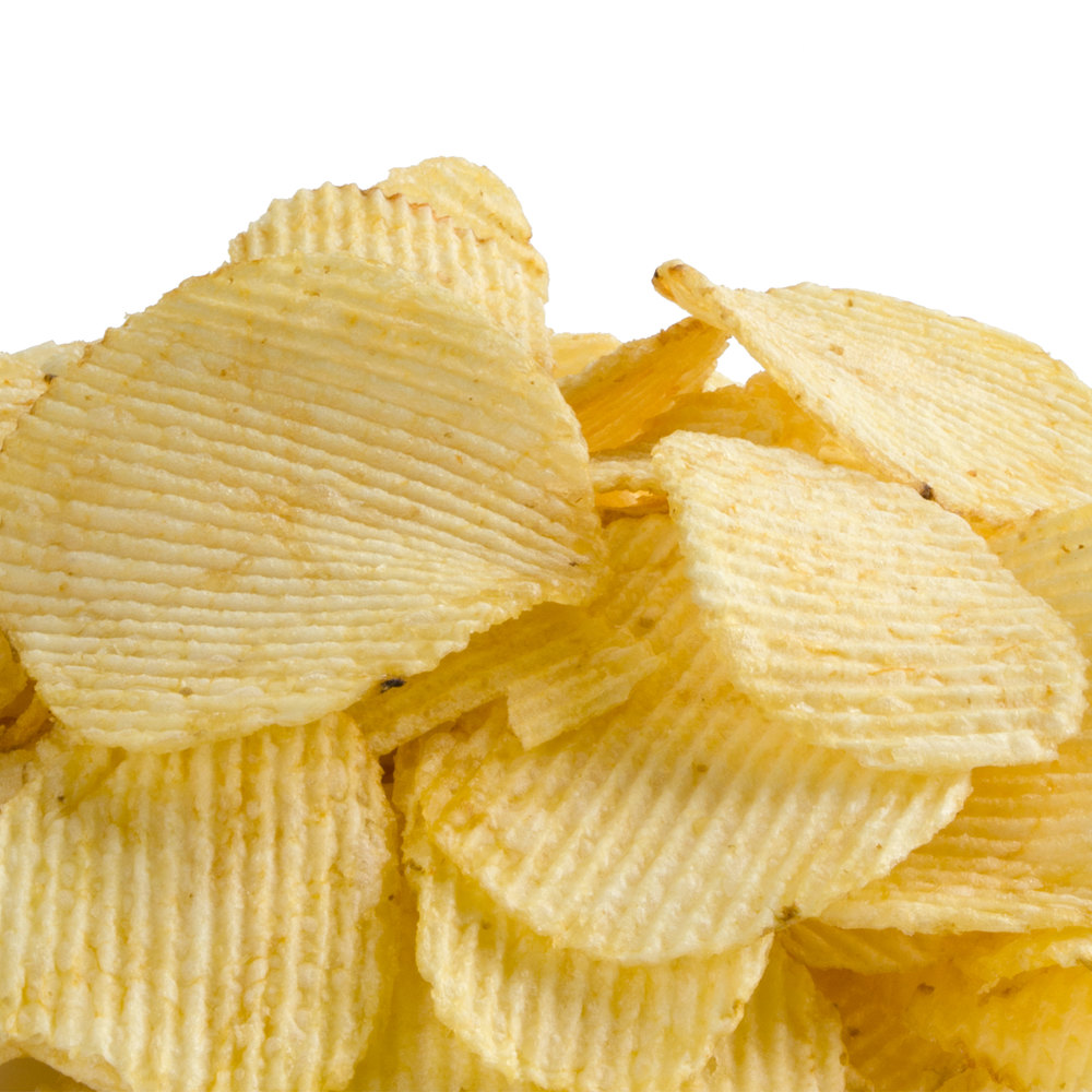 Snyder's of Hanover Plain Ripple Potato Chips - (9) 1 lb ...