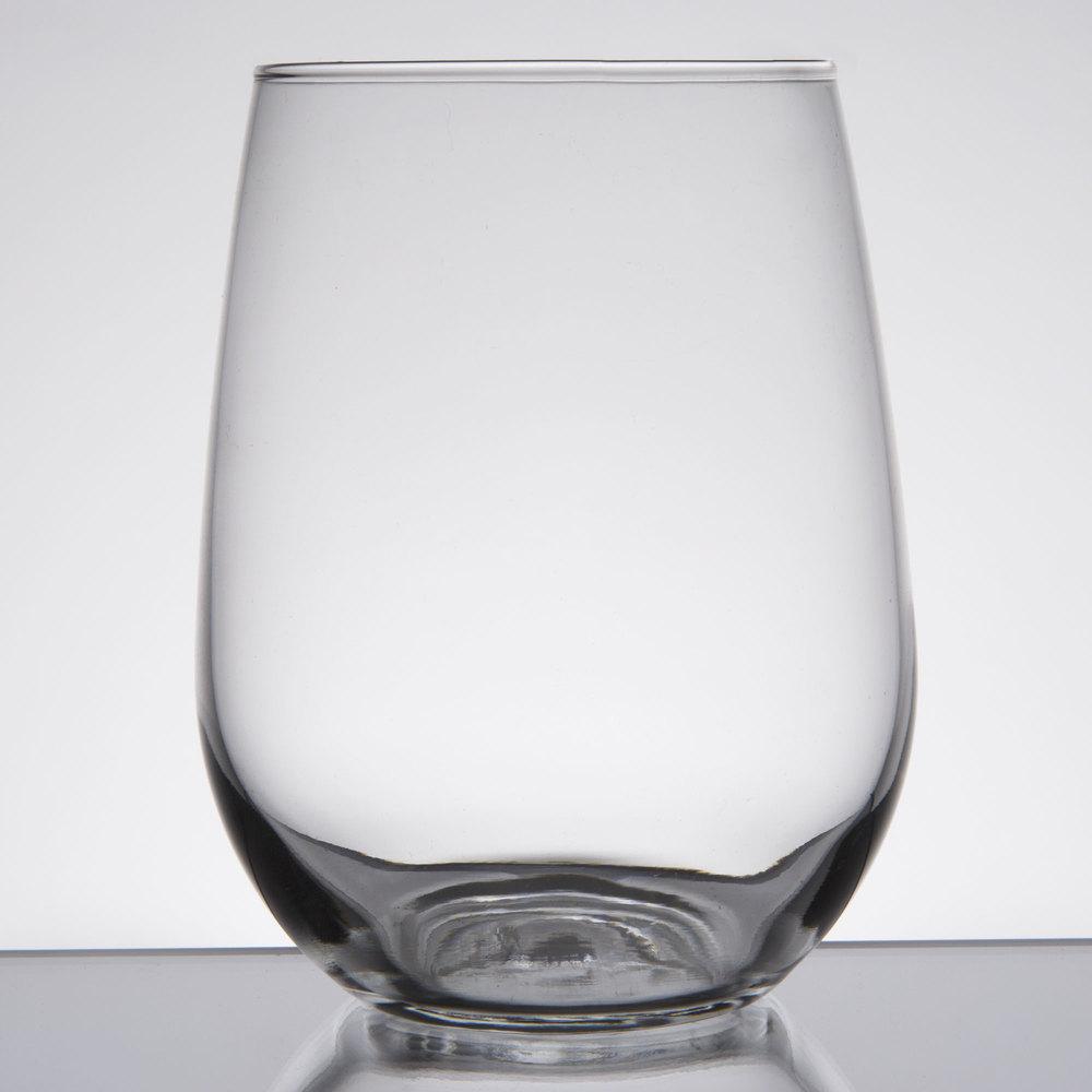 Libbey 221 17 Oz Stemless White Wine Glass 12 Case