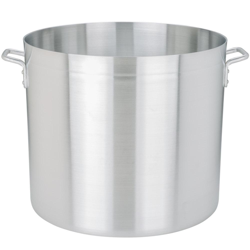 80 qt standard weight aluminum stock pot. Black Bedroom Furniture Sets. Home Design Ideas