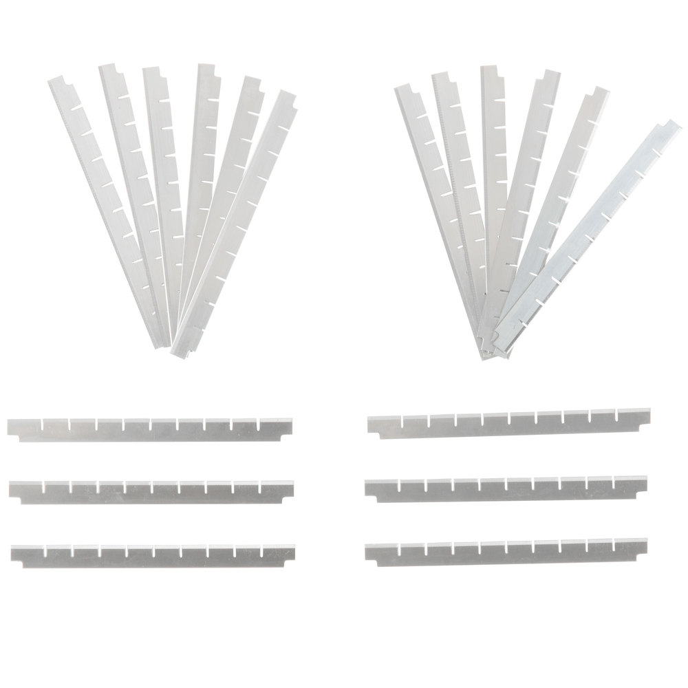 "Nemco 536-2 3/8"" Square Cut Replacement Blade Set"