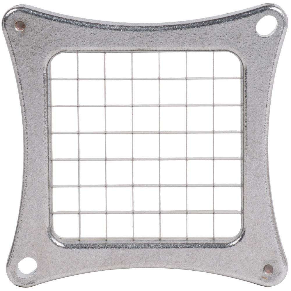 "Nemco 56424-3 1/2"" Square Cut Blade and Holder Assembly for Easy Chopper II"