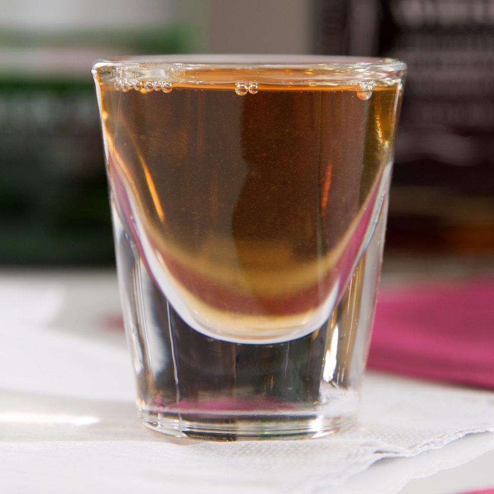 Shot Glass Whiskey