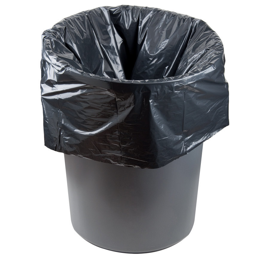 li 39 l herc repro trash bag 55 gallon 1 5 mil 38 x 58 low density can liner 100 case. Black Bedroom Furniture Sets. Home Design Ideas