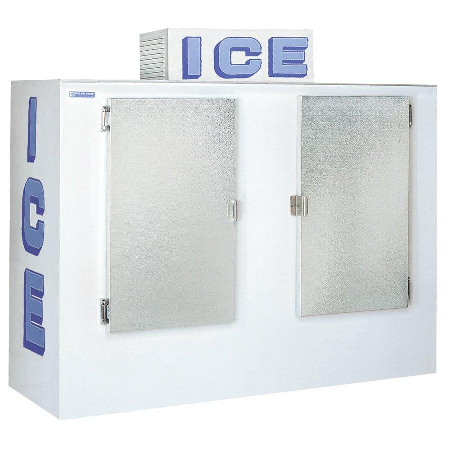 Polar Temp 750cw Cold Wall Outdoor Ice Merchandiser 75