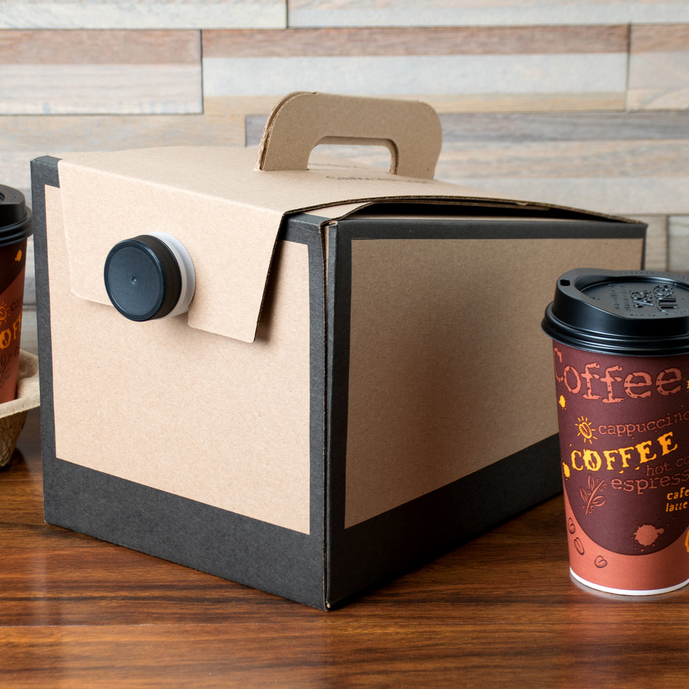 LBP 6999 160 oz. Coffee Take Out Container - 20/Case