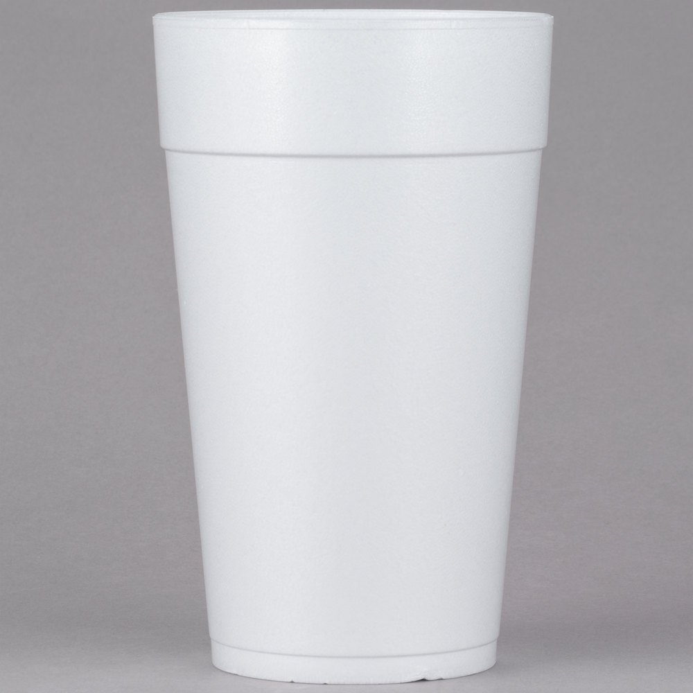 Dart 44tj32 44 Oz Customizable White Foam Cup 300 Case