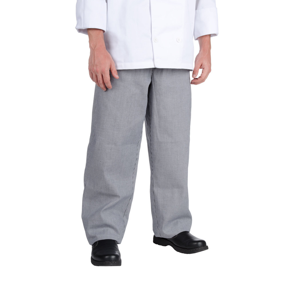 Chef Revival P004HT Size 5X Houndstooth EZ Fit Chef Pants - Poly-Cotton