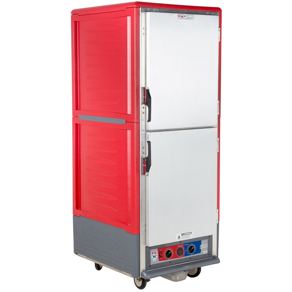 Metro C539-MDS-U C5 3 Series Moisture Heated Holding and Proofing Cabinet - Solid Dutch Doors