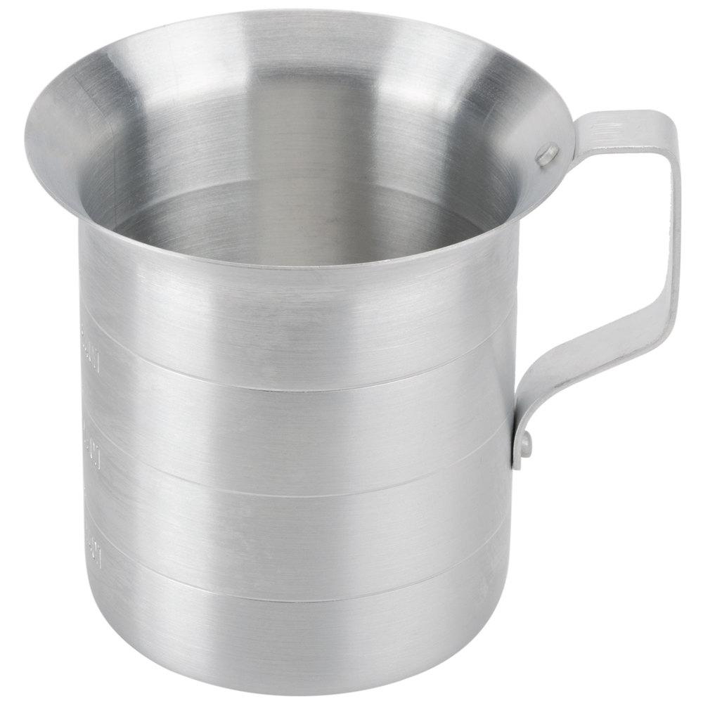 Aluminum 1 Qt Measuring Cup