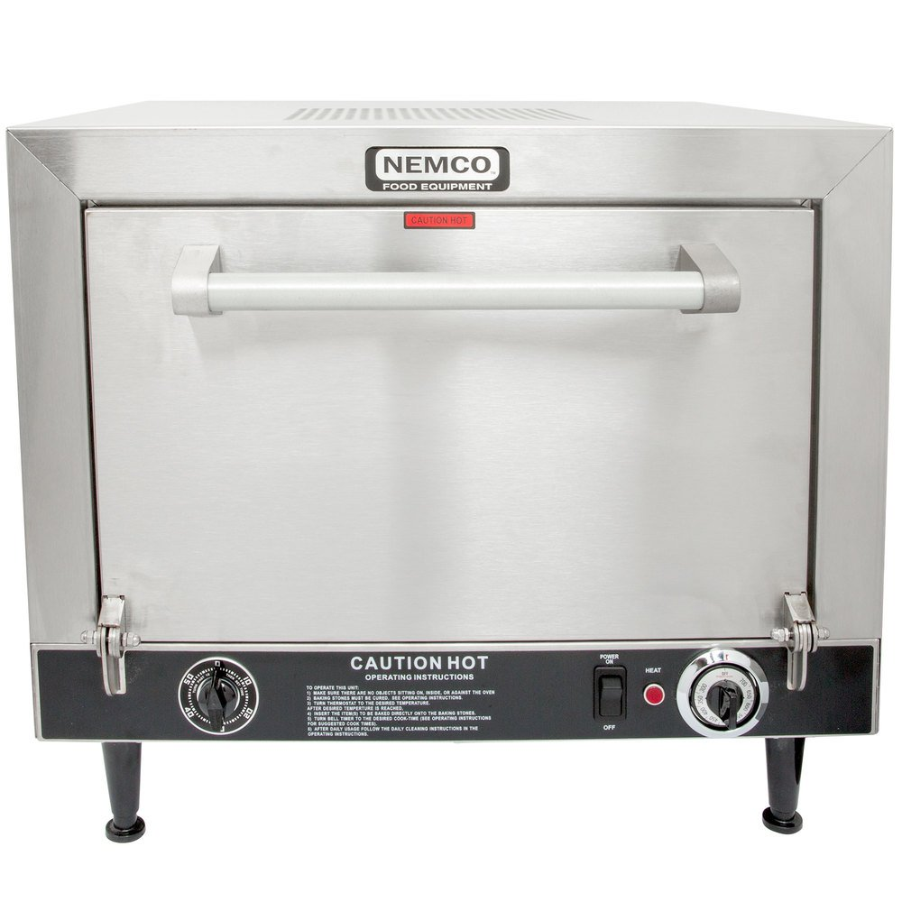 582087 nemco 6205 240 countertop pizza oven 240v, 5400w  at bakdesigns.co